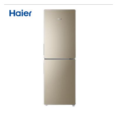 海尔冰箱BCD-190WDPT 190升双门冰箱 风冷无霜 炫彩金外观 节能家用